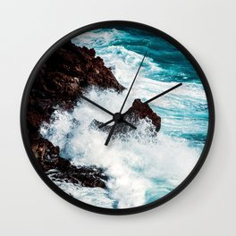 CONFRONTING THE STORM Wall Clock