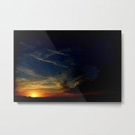 Sunset On The Mesa Metal Print
