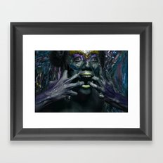 Perc Framed Art Print