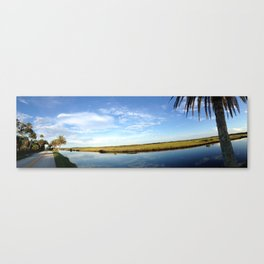 Highbridge Road, Florida panorama Canvas Print