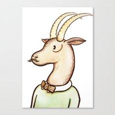 Sir Antelope Canvas Print