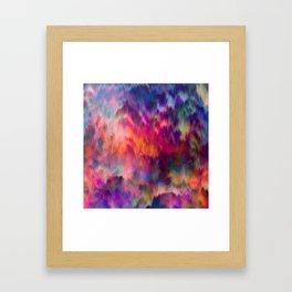 Sunset Storm Framed Art Print