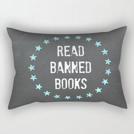 Read Banned Books Rectangular Pillow