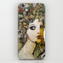 Fragment of a portrait iPhone Skin