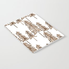 Pine Trees – Sepia Palette Notebook