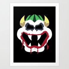 Joke's On You Bowser Art Print