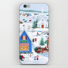 Wintertime in Sugarcreek iPhone Skin