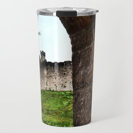 Cardiff Castle, Wales. Travel Mug