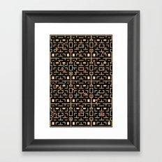 Busy World Framed Art Print