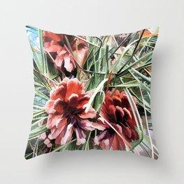 Pine Cones Throw Pillow