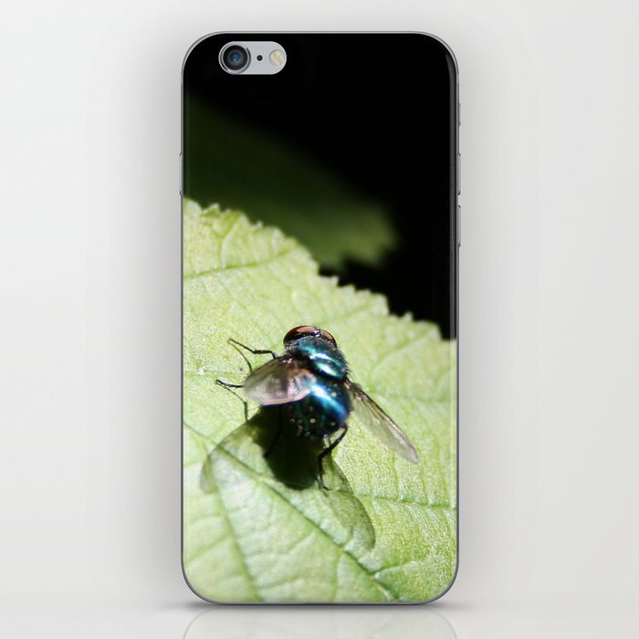 Flies can be pretty too iPhone Skin