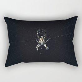 Into the Web Rectangular Pillow