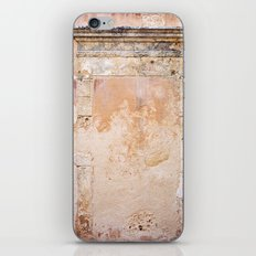 Ancient Marble Doorframe and Plaster, Crete, Greece iPhone & iPod Skin