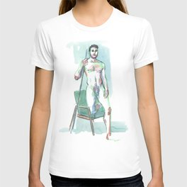 ROBBY, Nude Male by Frank-Joseph T-shirt