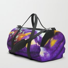 A lone traveller (supermacro flabellina) Duffle Bag