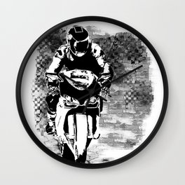 Street Race Wall Clock