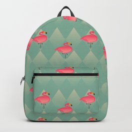 Sugar Flamingo Pattern Backpack