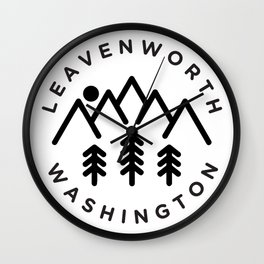 Leavenworth Washington Wall Clock