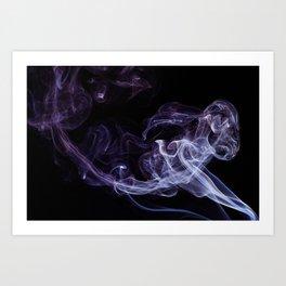 Smoke D-6 (The flying elephant) Art Print