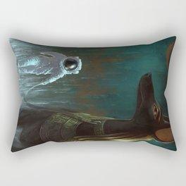 On a leash Rectangular Pillow