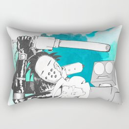 Monster Battle Rectangular Pillow