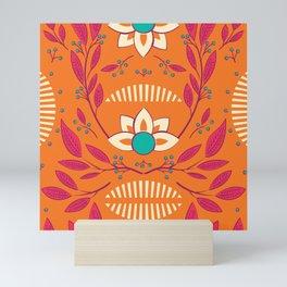 Flora Vibrant 003 Mini Art Print