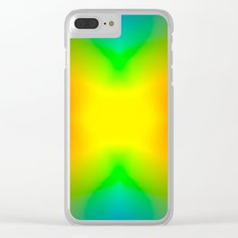The Splitting Universe. Clear iPhone Case