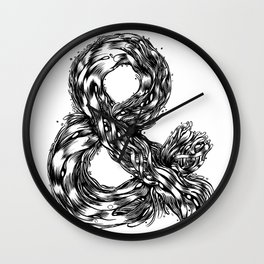 The Illustrated & Wall Clock
