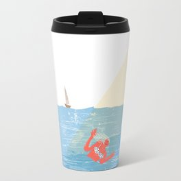 Bye Bye Sea Travel Mug