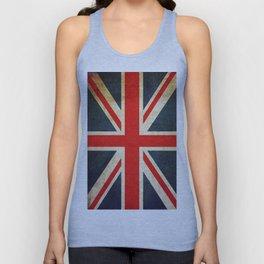 Vintage Union Jack British Flag Unisex Tank Top