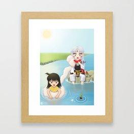 Inuyasha:  Summer Framed Art Print