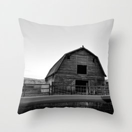 Grandpa's Barn Throw Pillow