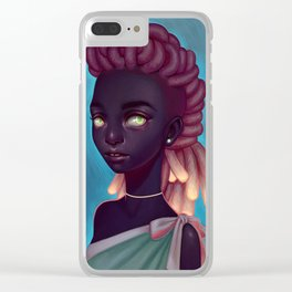 Fyre Clear iPhone Case