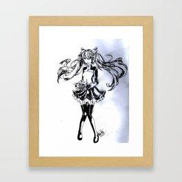 Hatsune Miku  Framed Art Print