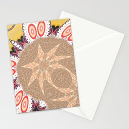 Some Other Mandala 603 Pattern Stationery Cards