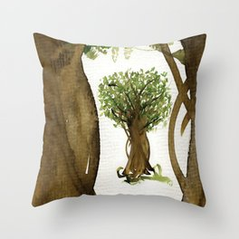 The Fortune Tree #3 Throw Pillow