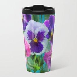Bouquet of violets Travel Mug