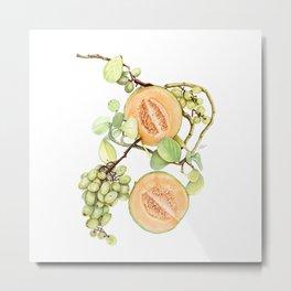 Cantaloupe Desire Metal Print