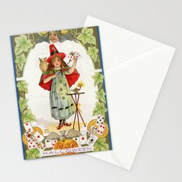 The Little Witch / Nash Vintage Postcard 1900s Stationery Cards