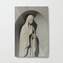 Praying Virgin Mary Metal Print