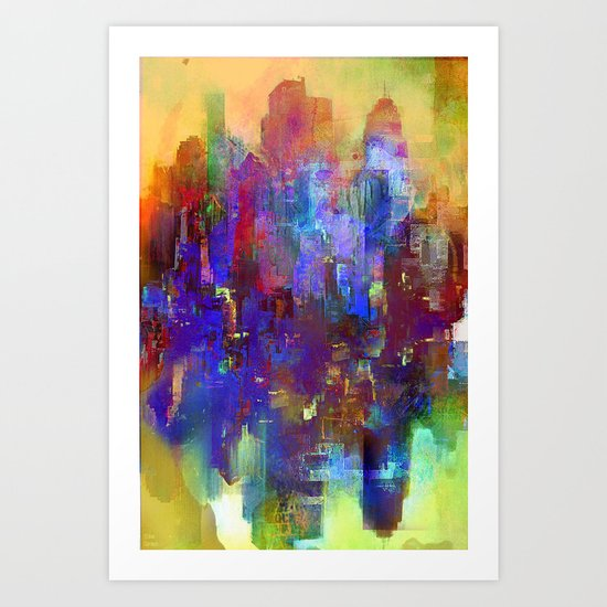 A new day comes Art Print