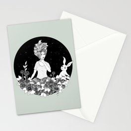 Travelling - Dream of Shining Night Stationery Cards
