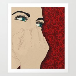 Larrufeet Art Print