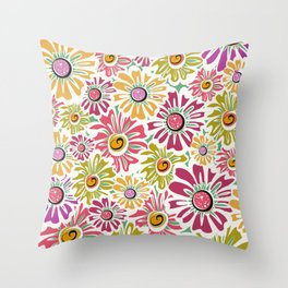 Roco Bloom Throw Pillow