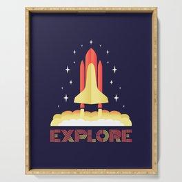 Explore Serving Tray