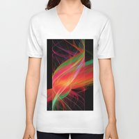 carnival V-neck T-shirts featuring carnival by Susanne Herppich