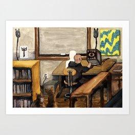 Chrysalis Claustrum Art Print