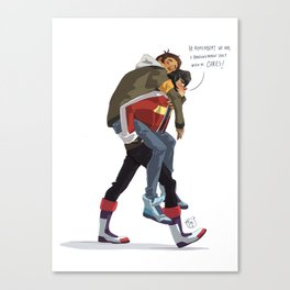 Klance at early stages! Canvas Print