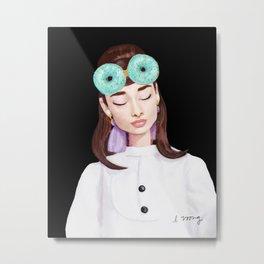 Audrey Hepburn - Breakfast At Tiffany's Metal Print