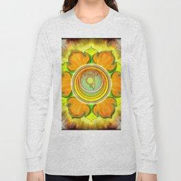 Svadhisthana Chakra - Sacral Chakra - Series III Long Sleeve T-shirt